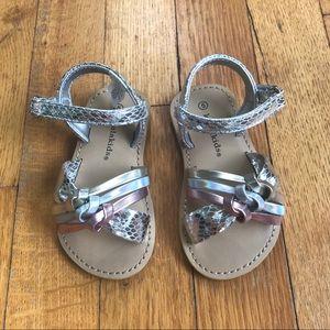 Koala Kids metallic sandals